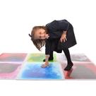 Round Liquid Floor Tile - Purple
