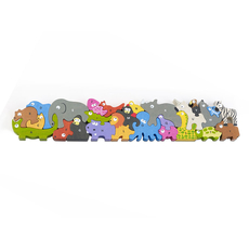 Animal Parade A to Z - Jumbo Version