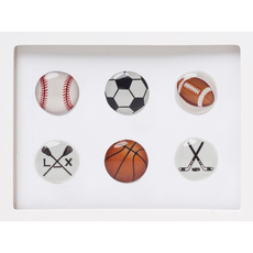 Sports Home Button Sticker Pack Includes 6pcs