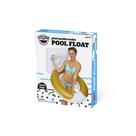 Golden Toilet Pool Float
