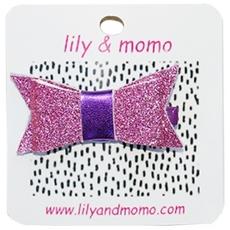 Glitter Bow - Lilac