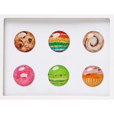 Dessert Home Button Sticker Pack Includes 6pcs