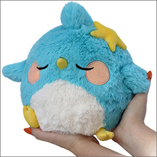Mini Squishable Sleepy Blue Bird Limited