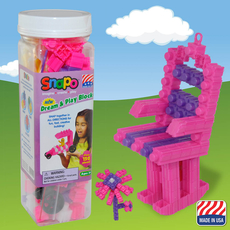 Dream and Play-Over 150 Pcs (Pink/Purple/White)
