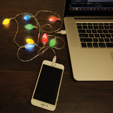 USB Christmas lights (iPhone)