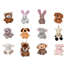 72 Ponytail Pals Assorted Pack (12 animals x 6)