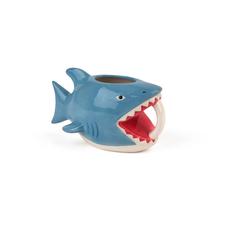 shark bite COFFEE MUG