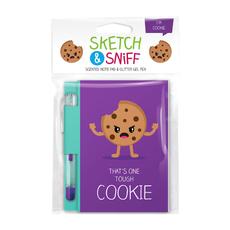 Sketch & Sniff Note Pads w/gel pen Cookie