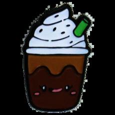Enamel Pin- Iced Coffee
