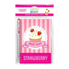 Sketch & Sniff Sketch Pads w/Smencil Strawberry