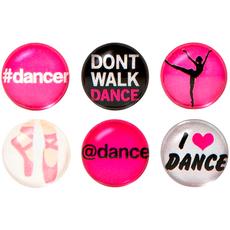 Dance Home Button Sticker Pack Includes 6pcs