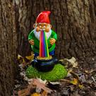 the lucky rainbow GARDEN GNOME