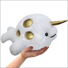 Special Edition Mini Squishable Golden Narwhal