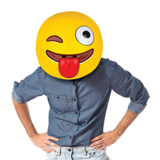 gigantic EMOJI MASK