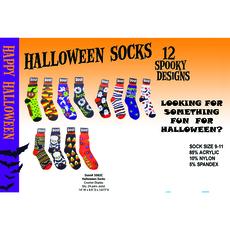 Halloween Lucky Socks - Pack of 12