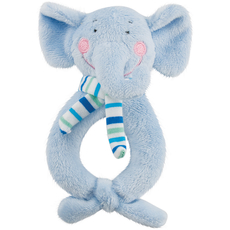 Happy Ring Rattles - Elephant