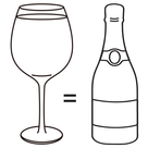 Gigantic Wine Glass-Happy Hour