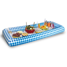 Inflatabuffet | BLUE GINGHAM