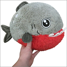 Mini Squishable Piranha