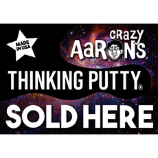 Crazy Aaron's Window Cling