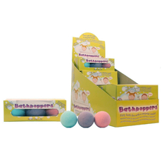 Bathpoppers 3 Per Pack (24 units + display)