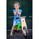 Kinderfeets Green Chalkboard bike with chalk!