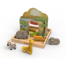 What I Like - Safari Story Box Playset