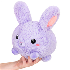 Mini Fluffy Bunny - Purple