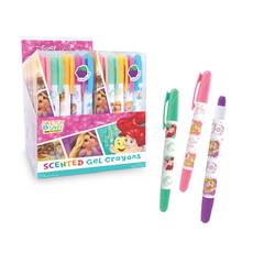 Princess Sketch & Sniff Gel Crayons Sets (of 5)