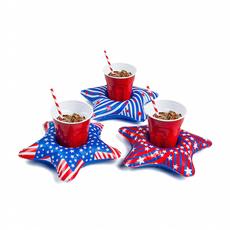 Patriotic Stars Beverage Boats