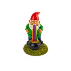 the lucky rainbow GARDEN GNOME