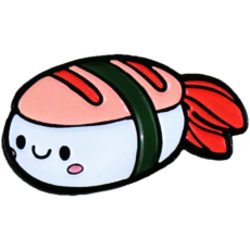 Enamel Pin - Shrimp Sushi