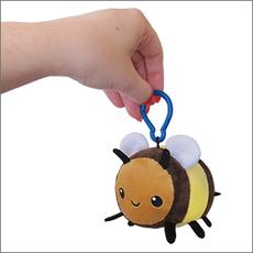 Micro Squishable Fuzzy Bumblebee