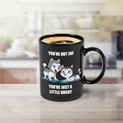 Colour Changing Husky Mug