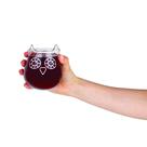 The Owl Stemless Wine Glass
