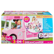 Barbie - 3-in-1 Dream Camper Vehicle and Access.