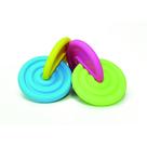 Interlocking Disks Yellow-Blue