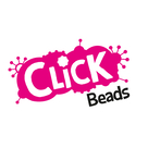 Click Beads (Pink, Orange & Yellow)
