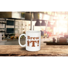 The Brew It, Screw It Drinkware gift set