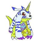 Mini Squishable Digimon Gabumon