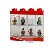 LEGO Minifigure Display 8 Red
