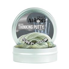 Pure Platinum Glitter 3.5 inch Tin