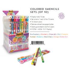 Coloured Smencils Sets (of 10)