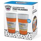 Prescription Pint Glasses 2 pc set