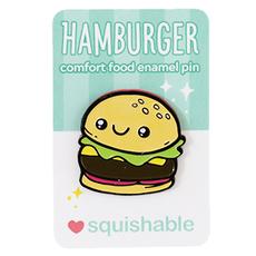 Enamel Pin - Hamburger