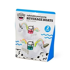 Magical Unicorn BEVERAGE BOAT 2PK