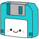 Fuzzy Memories Floppy Disk