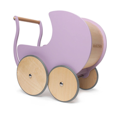Kinderfeets Doll Pram in Lavender