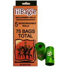 lilBagie Refill Bag Rolls - 5 Pack