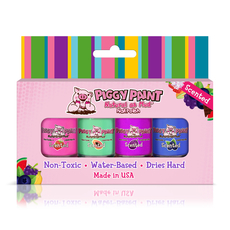 Scented - Fruity Scented Polish Set